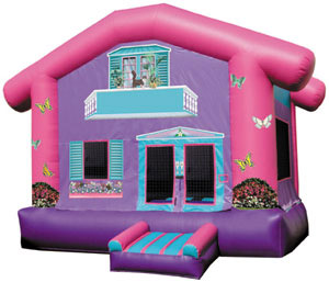 15' x 15' Doll House MoonBounce Rental