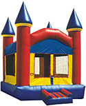 15' x 15' Castle Funhouse MoonBounce Rental