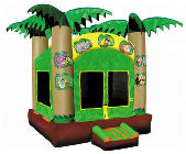 15' x 15' Jungle Adventure MoonBounce Rental