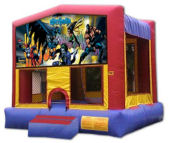 15' x 15' Batman MoonBounce Rental