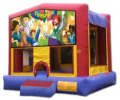 15' x 15' Celebration MoonBounce Rental