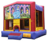 15' x 15' Disney Princess Deluxe MoonBounce Rental