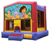 15' x 15' Dora The Explorer MoonBounce Rental