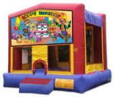 15' x 15' Happy Birthday #1 MoonBounce Rental