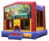 15' x 15' Happy Birthday #2 MoonBounce Rental