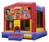 15' x 15' Lilo & Stitch MoonBounce Rental