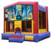 15' x 15' Looney Tunes MoonBounce Rental