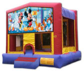 15' x 15' Mickey Mouse MoonBounce Rental