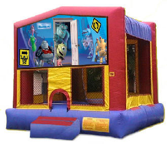 15' x 15' Monsters Inc. Deluxe MoonBounce Rental