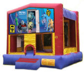 15' x 15' Monsters Inc MoonBounce Rental