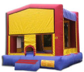 15' x 15' Plain Modular MoonBounce Rental