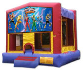 15' x 15' Power Rangers MoonBounce Rental