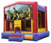 15' x 15'  Shrek MoonBounce Rental