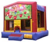 15' x 15' Strawberry Shortcake MoonBounce Rental