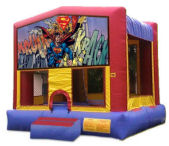 15' x 15' Superman MoonBounce Rental