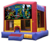 15' x 15' Teenage Mutant Ninja Turtles MoonBounce Rental