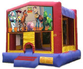 15' x 15'  Toy Story MoonBounce Rental