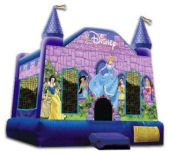 13' x 13' Disney Princess Castle MoonBounce Rental