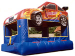 15' x 12' Speed Racer MoonBounce Rental