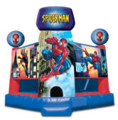 15' x 15' Spider-Man Club MoonBounce Rental