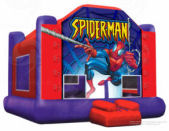 15' x 15' Spider-Man Jump MoonBounce Rental