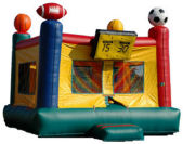 15' x 15' Sports Arena MoonBounce Rental