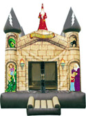 15' x 15' Wizards Castle MoonBounce Rental